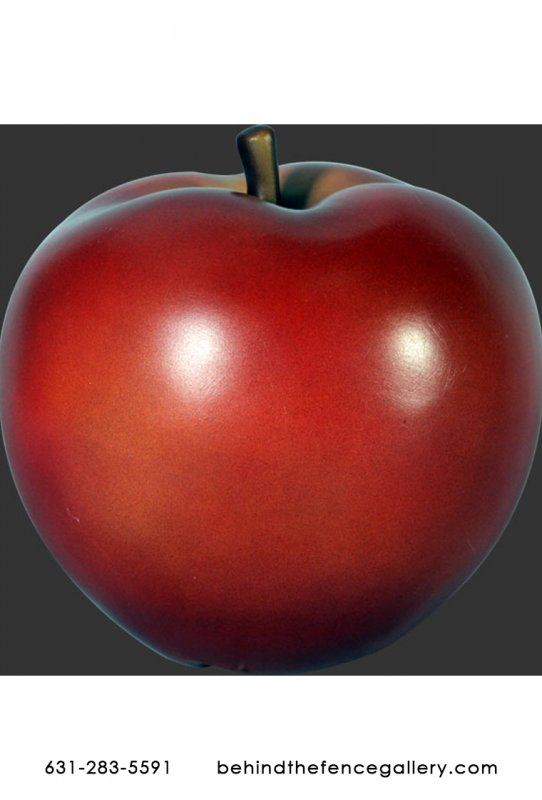 Small Red Delicious Apple Life Size Theater Prop