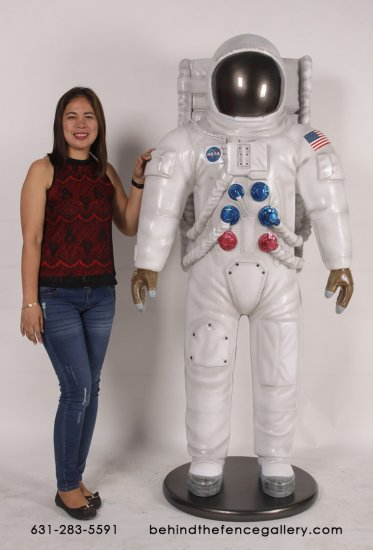 Life Size Astronaut Statue