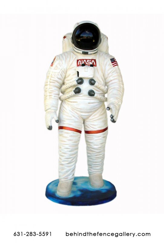 Astronaut Life Size Statue