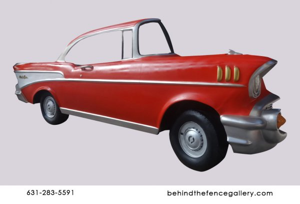 BelAir Oldsmobile Car Wall Mount Statue