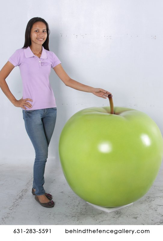 Giant Delicious Apple Statue