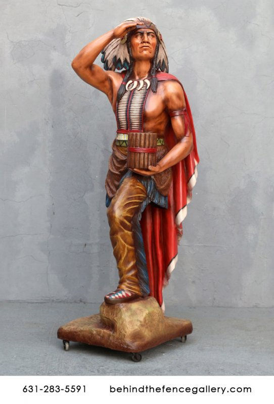 Tobacco Store Indian Statue - 6 FT.