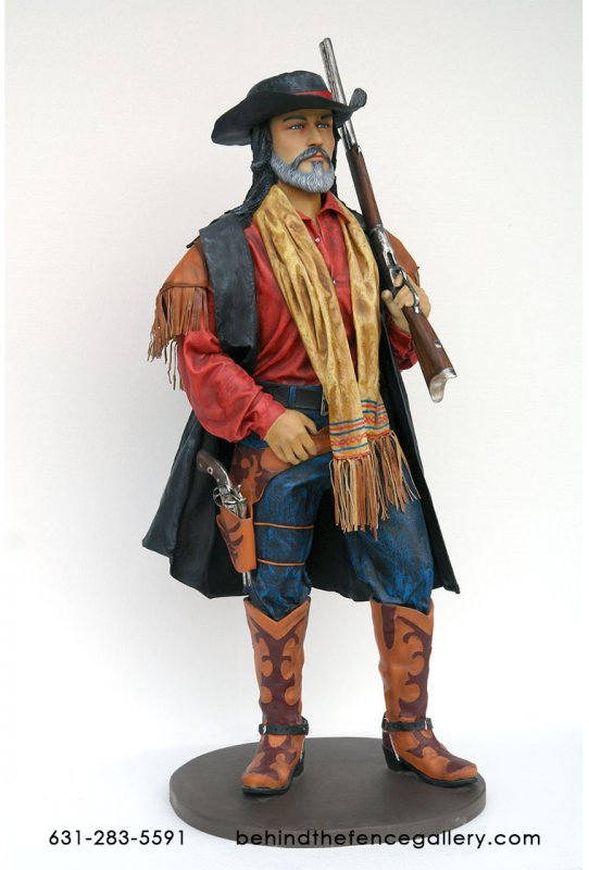 Rancher With Shotgun Statue