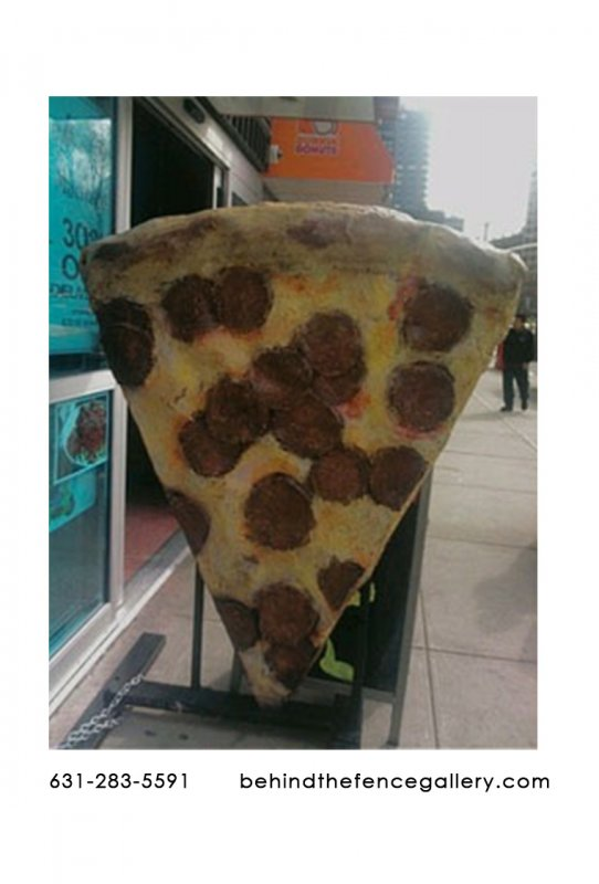 Custom Pizza Statue