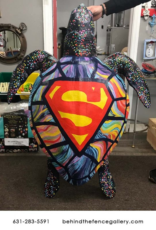 Custom Super Turtle Statue