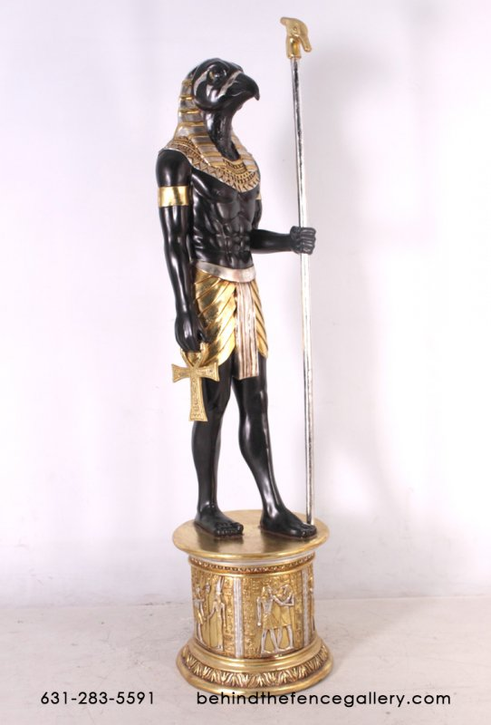 Horus 6ft. Statue with Base
