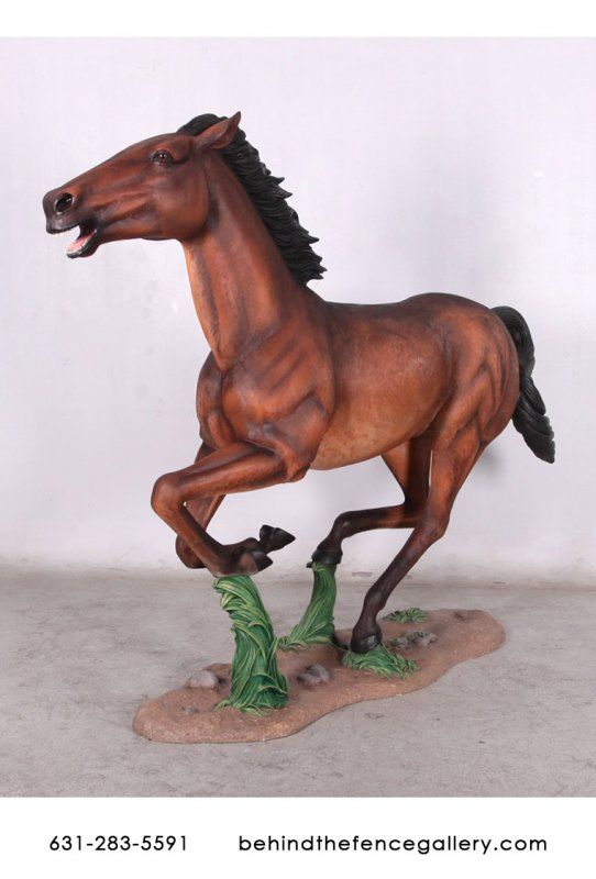 Galloping Horse Statue