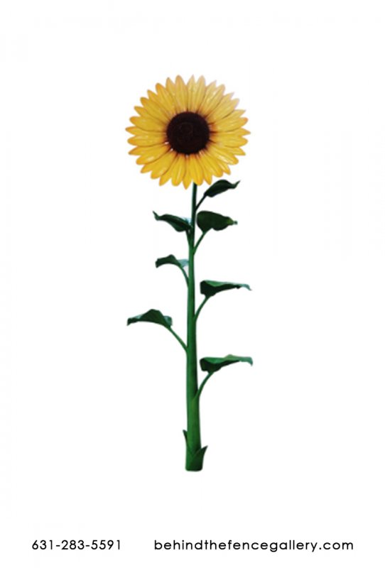 16ft Sunflower Garden Statue