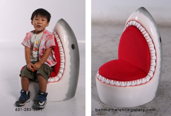 Kids Great White Shark Chair