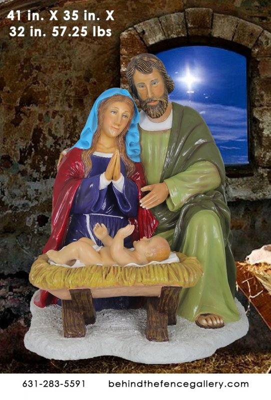 Holy Family Statue Set