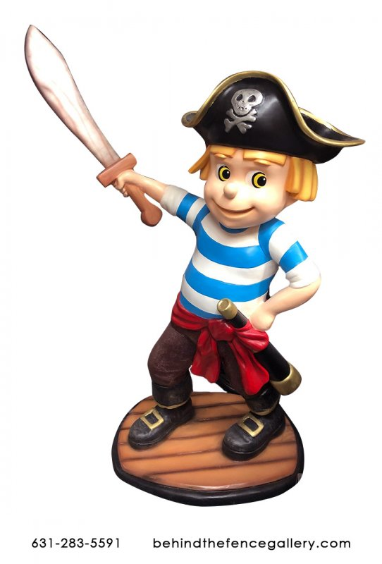 Junior Pirate Statue