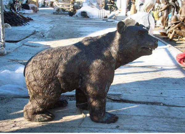 Bronze Little Bear