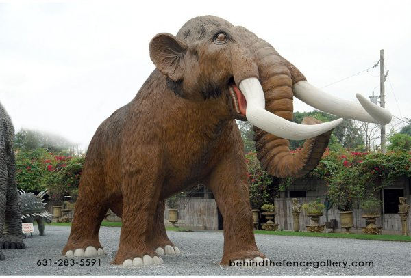 Life Size Mammoth Statue