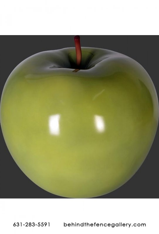 Mega Sized Granny Smith Green Apple Fake Food Prop