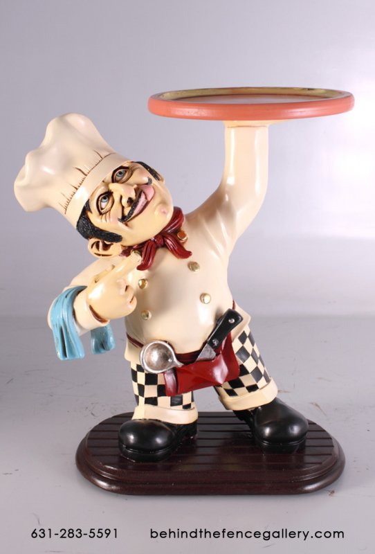 Mookie Cookie Chef Statue