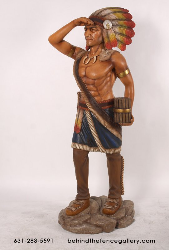 6ft Tobacco Indian Statue
