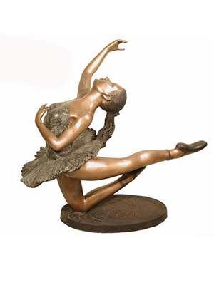 Bronze Ballerina on Base