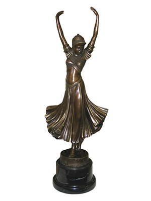 Bronze Dancing Girl