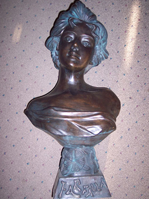 Bronze Bust of Female