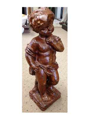 Cast Iron Cherub