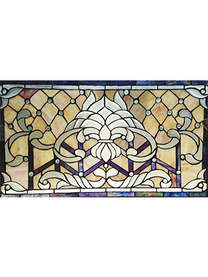Tiffany Style Stained Gl Window