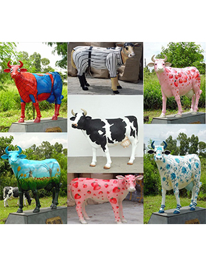 Custom Painted Cows Starting At