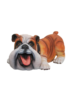 Comic Bulldog Statue