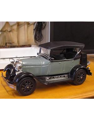 Jim Beam Car Decanter 1929 Ford Model Antique Tin Old Car