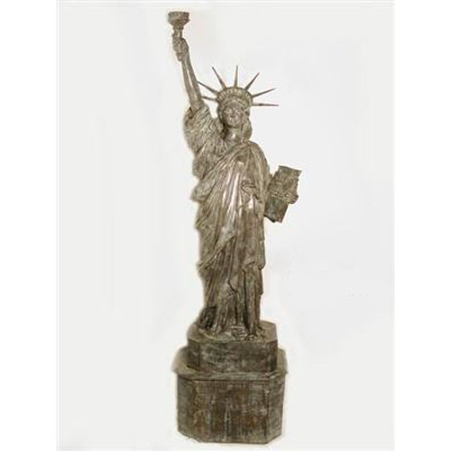 Statue of Liberty with Flame Shape Torch Light